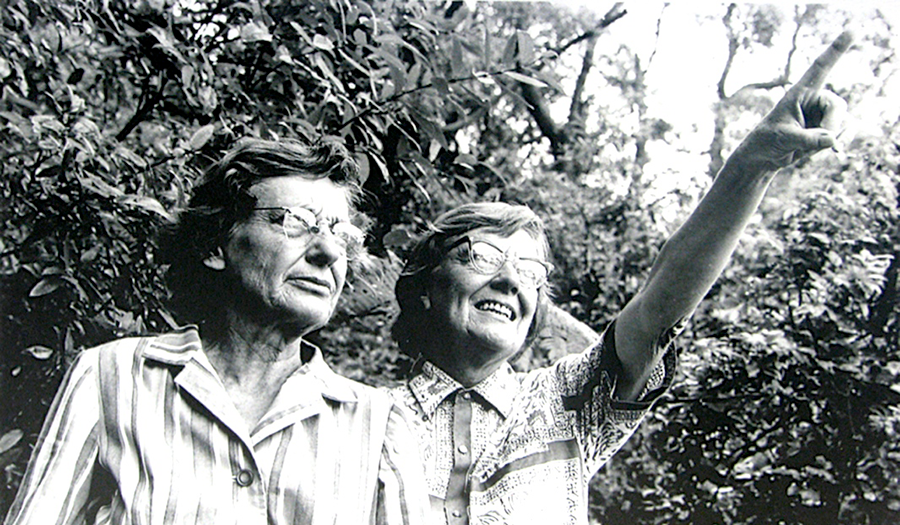 Joan and Eileen Bradley established the Bradley Method of Bush Regeneration.